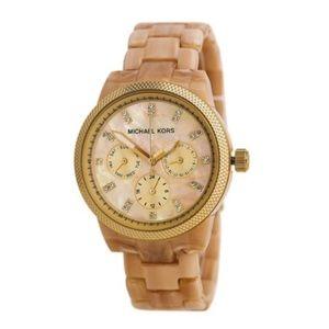 MICHAEL KORS Horn Jet Set Women's Watch (MK5039)